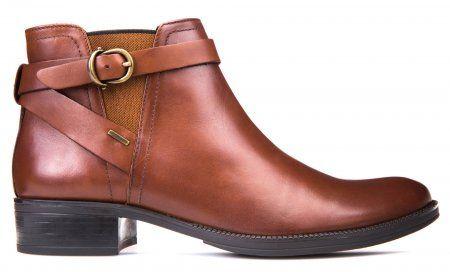 Geox dámská kotníčková obuv Meldi Np Abx 36 hnědá | MALL.CZ