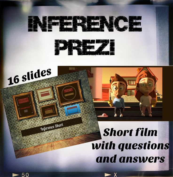 Inference Prezi for middle school english. Engaging short film with questions and answers. Kids loved it!