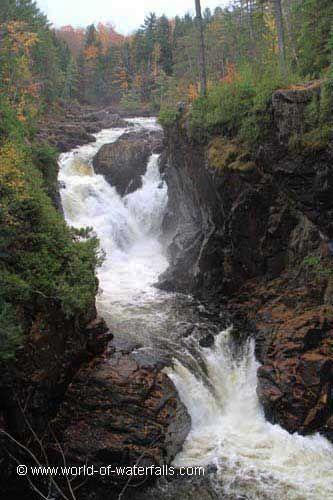 Chutes Dorwin  Rawdon, Quebec, Canada