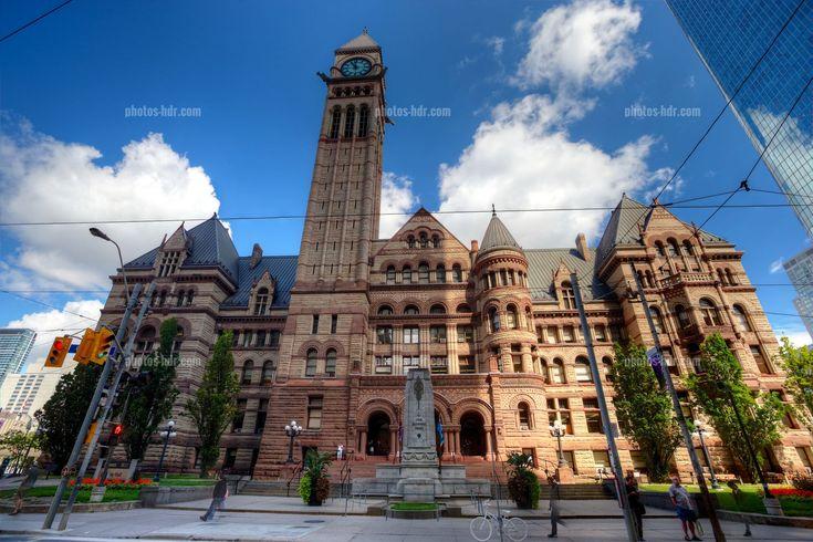 The old City Hall, Toronto