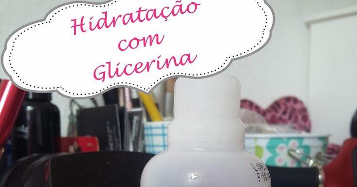 Como fazer hidratação com glicerina, como utilizar glicerina líquida dos cabelos, hidratação com glicerina