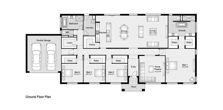 Granton 33 || Clarendon Homes Floor Plans