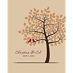 Personalized Wedding Art - great gift for Bride and Groom