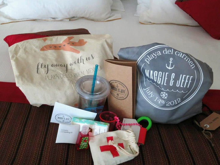 Wedding Ideas Gifts For Guests: Destination Wedding Gift For Guests.
