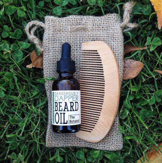The Botanist beard oil, stocking stuffer, husband gift, boyfriend gift, beard oil set, beard oil kit, groomsmen gift ideas, lumberjack beard