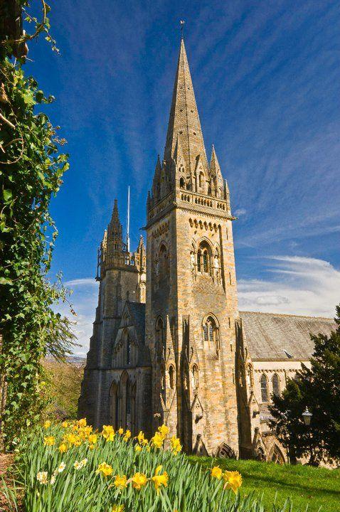 Llandaff Cathedral, Cardiff, South Wales