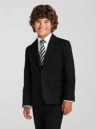 Joseph & Feiss Boy's Black Suit