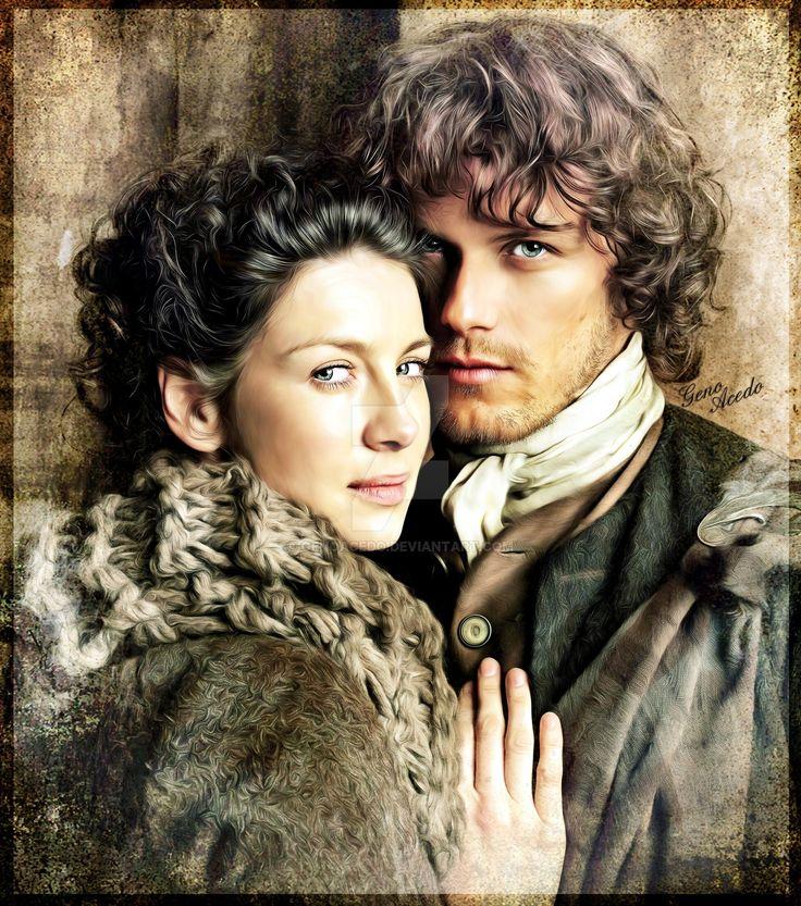 "genoacedo: ""Jamie and Claire """