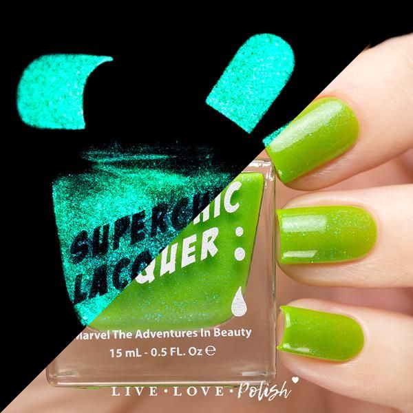 SuperChic Monster Blood Nail Polish (The Night Of Terror Collection) $14