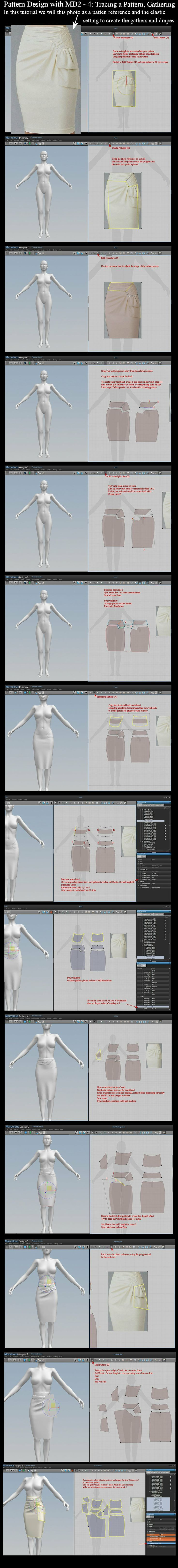 MD2 Techniques 4: Pattern Tracing and Elastic by *dylazuna on deviantART