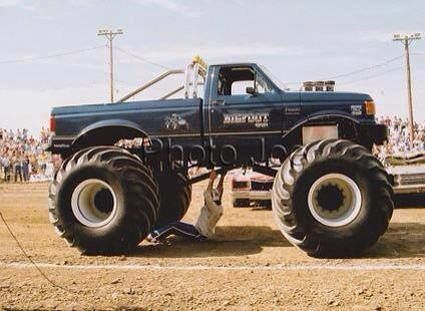 Best Bigfoot Monster Truck Images On Pinterest Monster