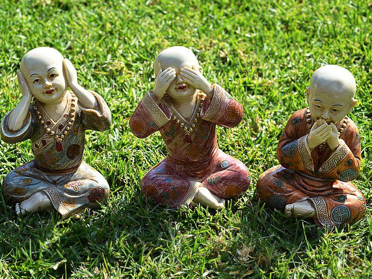 3 sabios budas Visitanos www.carolabatlle.cl