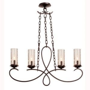 Kalco Lighting Grayson Heirloom Bronze Six Light Round Chandelier On SALE