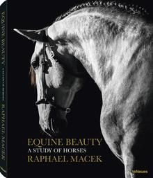 The legendary & complex relationship between humans & horses is an enduring one. The horse's distinctive blend of grace & strength & its sleek beauty has long been analysed, admired & represented in artistic form. These inspiring images of equine majesty feature both close-ups & complete figures against the backdrops of artful landscapes. The balanced composition & exquisite lighting highlight the form, texture & muscularity of each unique creature.