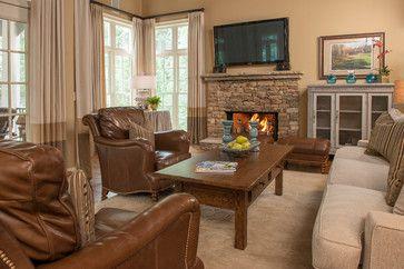 Alpharetta, GA Residence - traditional - family room - atlanta - Regas Interiors, LLC