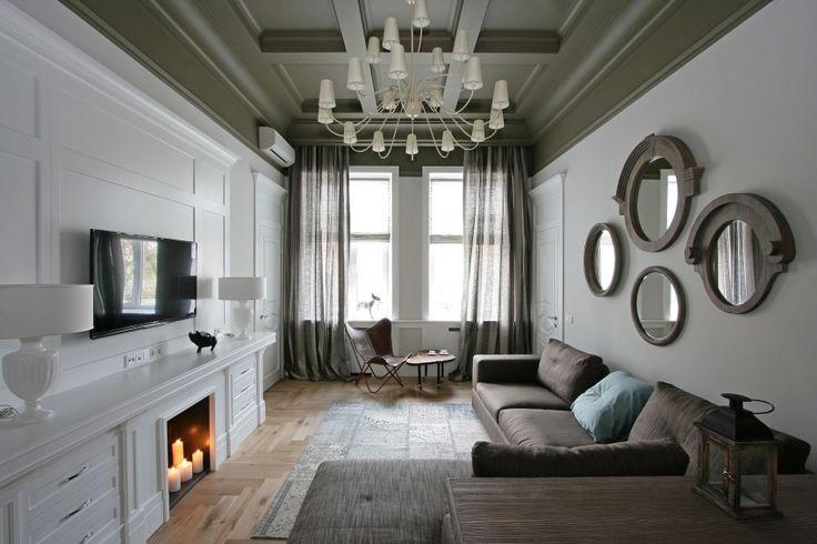 Modern living room - Apartment in Dnepropetrovsk by SVOYA Studio (4)