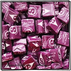 Since our groups color is purple at camp I thought why not find some yummy purple candy to eat on the bus