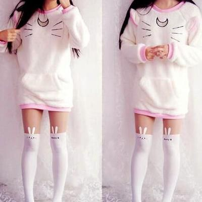 Fleece Pullover Hooded By Fashion Kawaii Japan Korea Online Store Powered By Storenvy