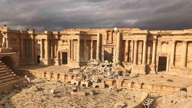 Exklusiv-Bericht für RT von Lizzie Phelan 3. März 2017  Aus dem Englischen übersetzt von Einar Schlereth, zuvor veröffentlicht auf seinem Blog  Nachdem die Syrische Arabische Armee (SAA) mit Hilfe der russischen Luftwaffe die Operation zur Befreiung von Palmyra beendet hat,   #IS #Islamischer Staat #Palmyra #Russland #SAA #Syrien #Syrisch Arabische Armee