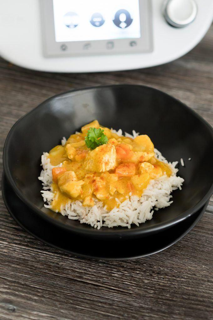 Gemüse-Curry mit Hähnchen aus dem Thermomix®