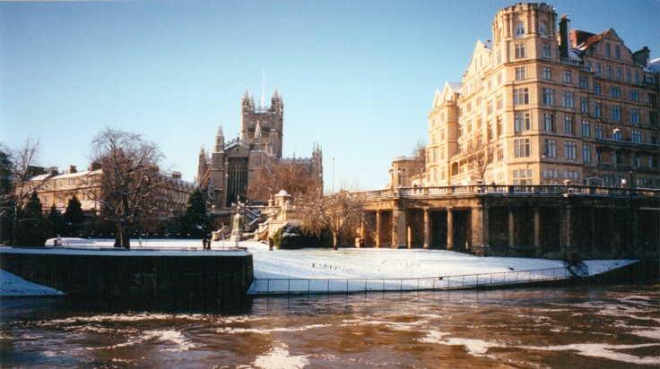 Bath in winter sun