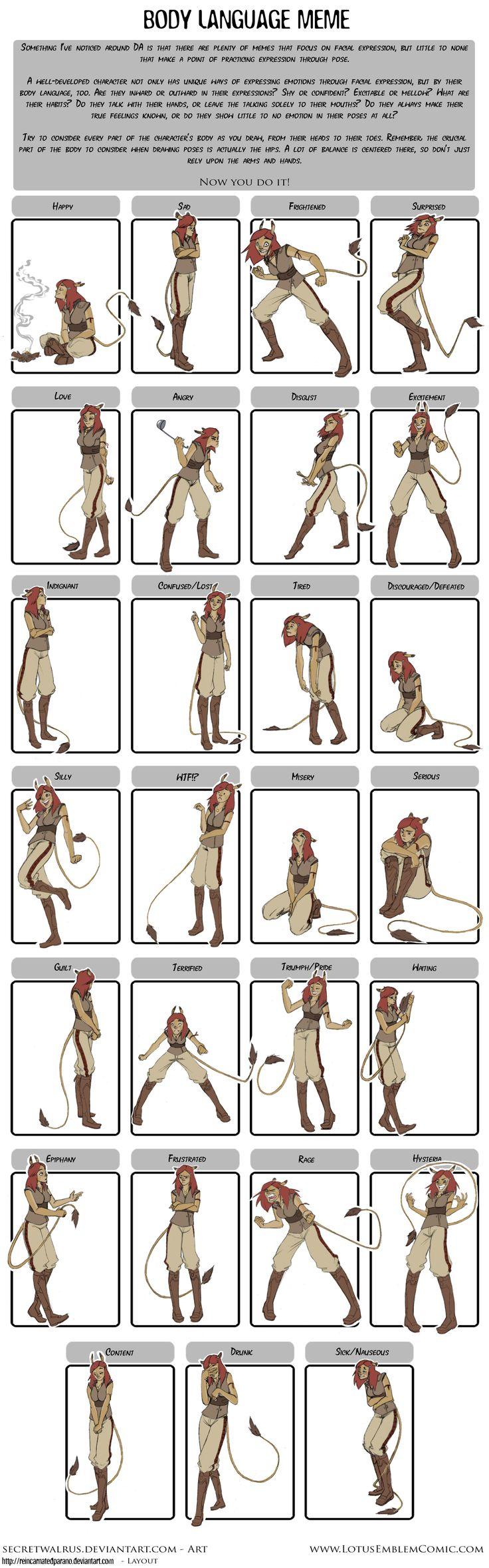 Rowen Pose Expressions by ~SecretWalrus on deviantART