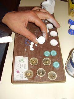 Las Miniaturas de Diosy: Tutoríal de Vajillas con escayola.