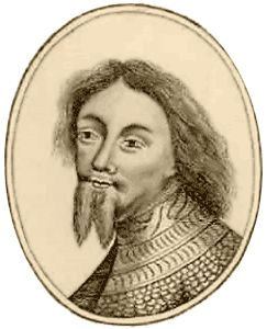 Only known surviving portrait of Richard Plantagenet, Duke of York - His second eldest Edmund, the Earl of Rutland was killed at the Battle of Wakefield by John Clifford, Baron and Lord of Clifford & Skipton, who allegedly stabbed the young Prince in the heart with a dagger in retaliation for his fathers death at the hands of the Duke of York at the First Battle of St. Albans in 1455.