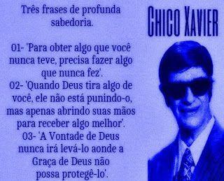 FRATERLUZ: Profunda Sabedoria (Chico Xavier)