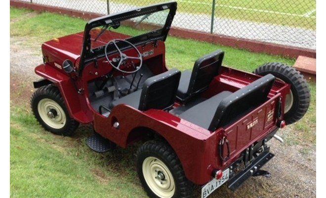 Jeep Willys Cj3b 1954 Fernando Cury Sao Paulo Sp Jeep