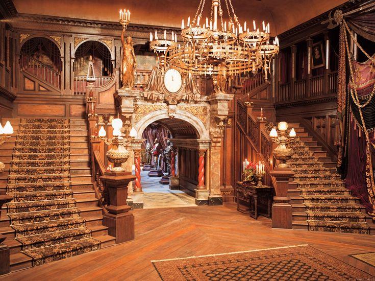 7 best haunted mansion images on pinterest haunted for Movie set design