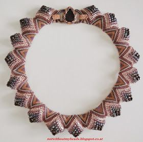 Austrian beader, Uli observed something interesting about flat peyote when different sized beads were used in bracelet designs. The bracele...