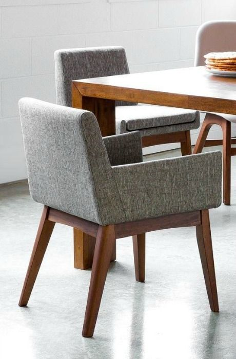 SILLA DE DISEÑO - Momocca deco&design | SILLAS | Gray dining chairs ...