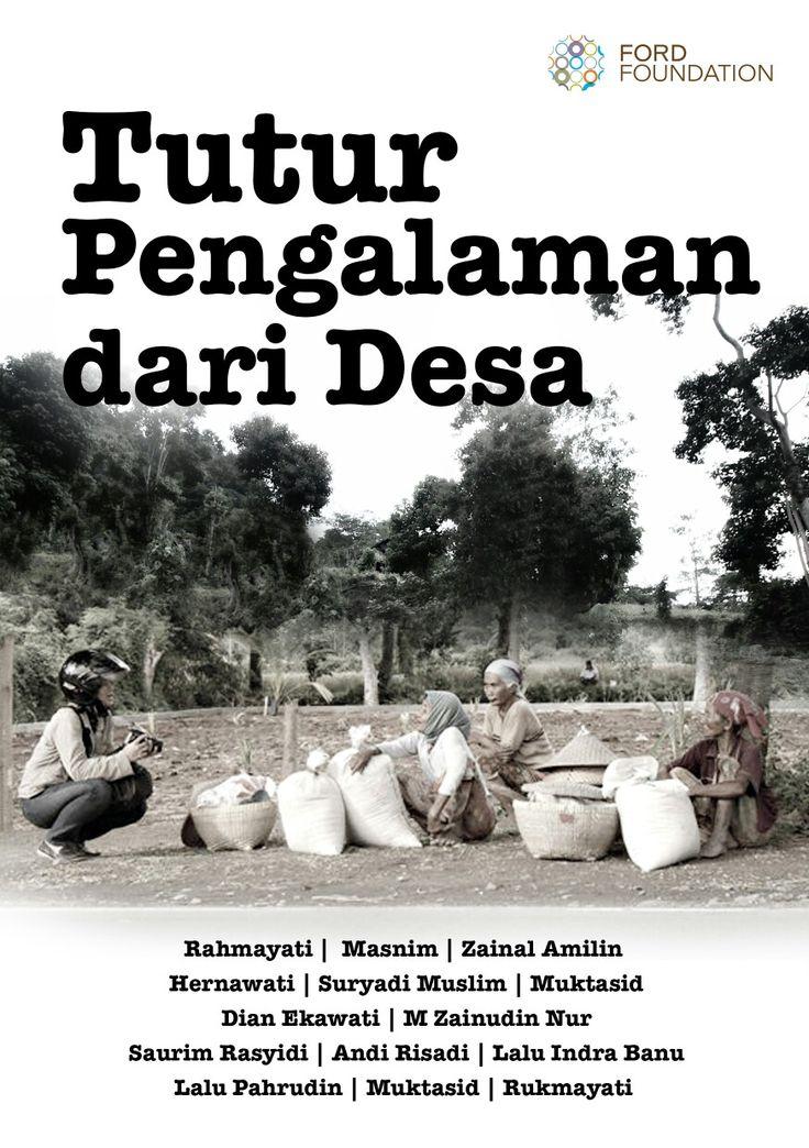 Tutur Pengalaman dari Desa Buku laporan project Ford di Lombok Tengah