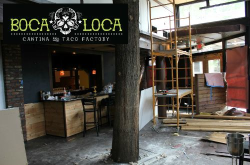 Boca Loca Cantina and Taco Factory Set to Open in Former Bombasha Space