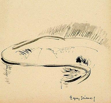 Egry József Öböl című festménye
