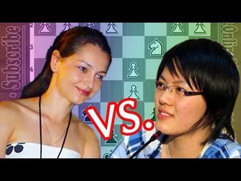 ▶ GM Alexandra Kosteniuk Vs Grandmaster Hou Yifan - Womens Grand Prix - YouTube