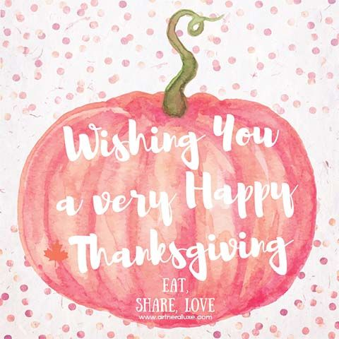 Happy Canadian Thanksgiving eh! Watercolour greeting created using https://www.canva.com/artnerdluxe. Personalize your own version with Canva. Pumpkin and rose gold foil confetti © ArtnerDluxe. www.artnerdluxe.com