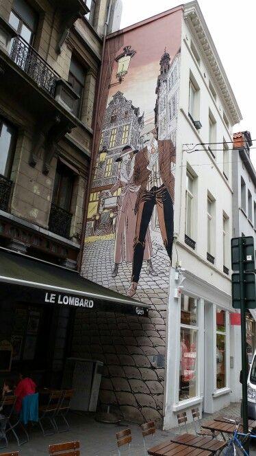 Victor Sackeville, rue du Marché au Charbon, Bruxelles
