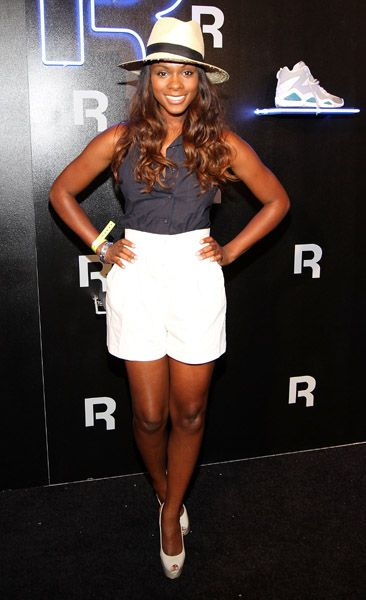 Tika Sumpter at Reethym of Life Party