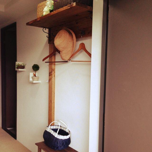 「ディアウォール」 「動物雑貨」 「賃貸DIY」 「DIY」 「賃貸」...etcのインテリア実例写真 macoronさんのお部屋 at 2014-06-28 04:35:24 | RoomClip(ルームクリップ)