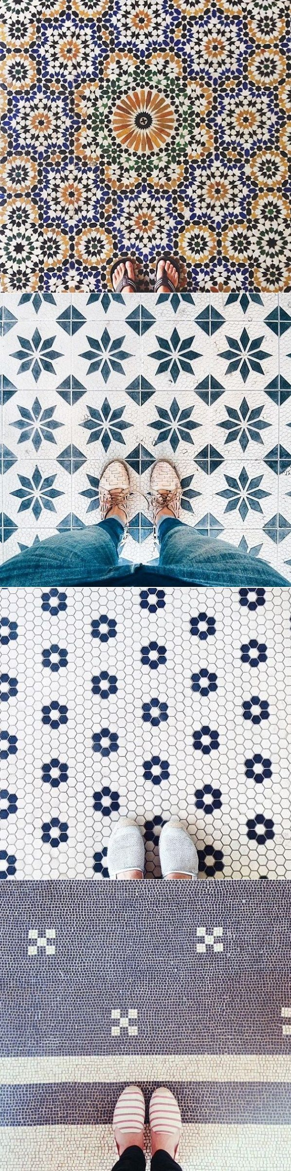 #floor tiles Fliesen