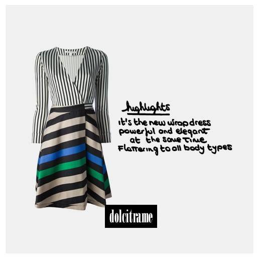 #dvf #dianevonfurstenberg #ameliadress #dress #wrapdress #newin #ss14 #ootd #fashion #editorpick #dolcitrame