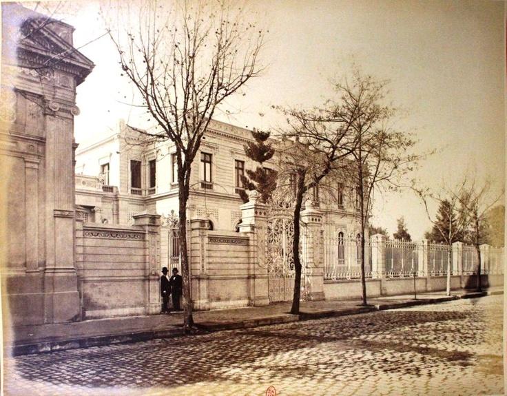#Palacio #Cousiño, #1883