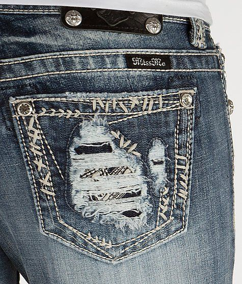 'Miss Me Cuffed Ankle Skinny Stretch Jean' #buckle #fashion www.buckle.com