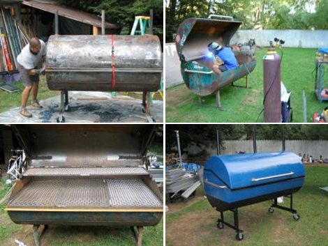 PM s Guide to the Ultimate DIY Thanksgiving Build a Grill