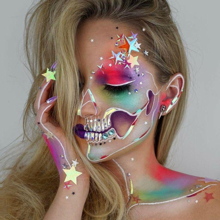 Trucco Halloween: ecco alcune idee per il make up! Spiegazioni passo dopo passo per la realizzazione di un trucco davvero pauroso!