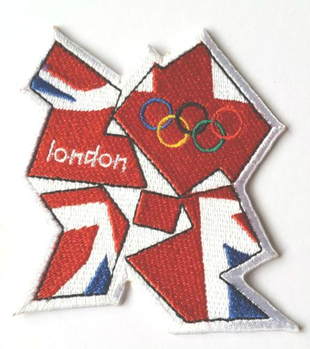 London 2012 Olympics Patch Team GB Embroidered Badge Costume Olympic Rings Crest | eBay