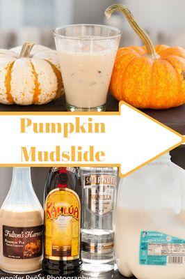 Pumpkin Mudslide - A Year of Cocktails A perfect twist on a regular mudslide!