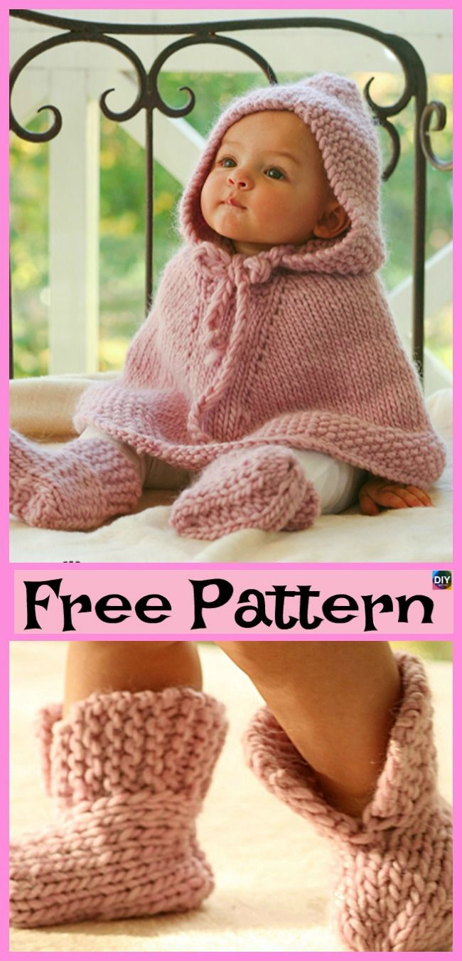 4b4f36528 Crochet Baby Poncho - Free Patterns